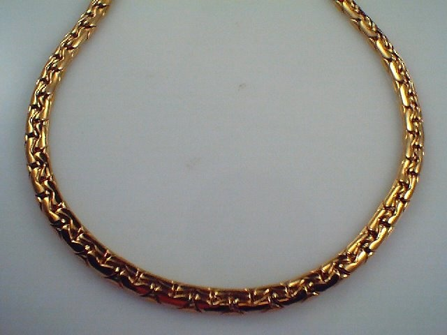 Stunning Imported Italian Solid 18ct yellow gold Necklet