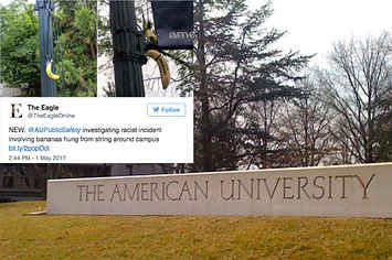 Bananas Hanging From Nooses Appeared At American University The Same Day A Black Woman Became Student Body President
