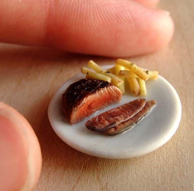 Comida en miniatura                                                       …