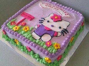 Image of Hello Kitty Cake