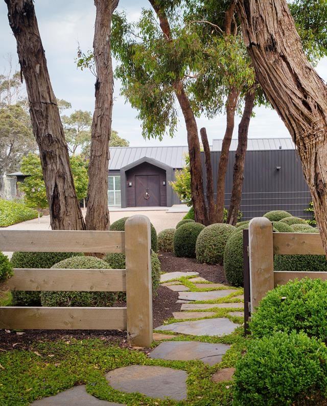 Step into this well-manicured garden on Victoria's Mornington Peninsula. Photo: Simon Griffiths | Story: Australian House & Garden