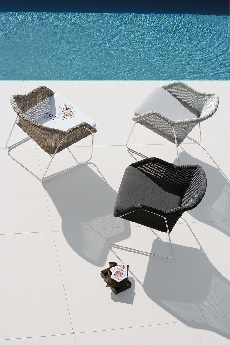 From Kettler S Wicker Garden Furniture Range Ona Awhoite Background - Outdoor lounge chair mood collection by manutti wicker pool lounging terrace