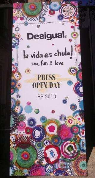 Press Open Day Desigual 'La vida es chula, Sex, Fun & Love' + You Albariño - Madrid