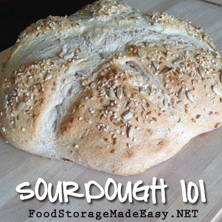 Sourdough 101: Part 2 of 2 (Bread)