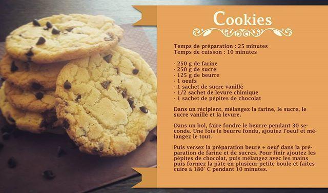 Recette de cookies By Douceur Acidulée