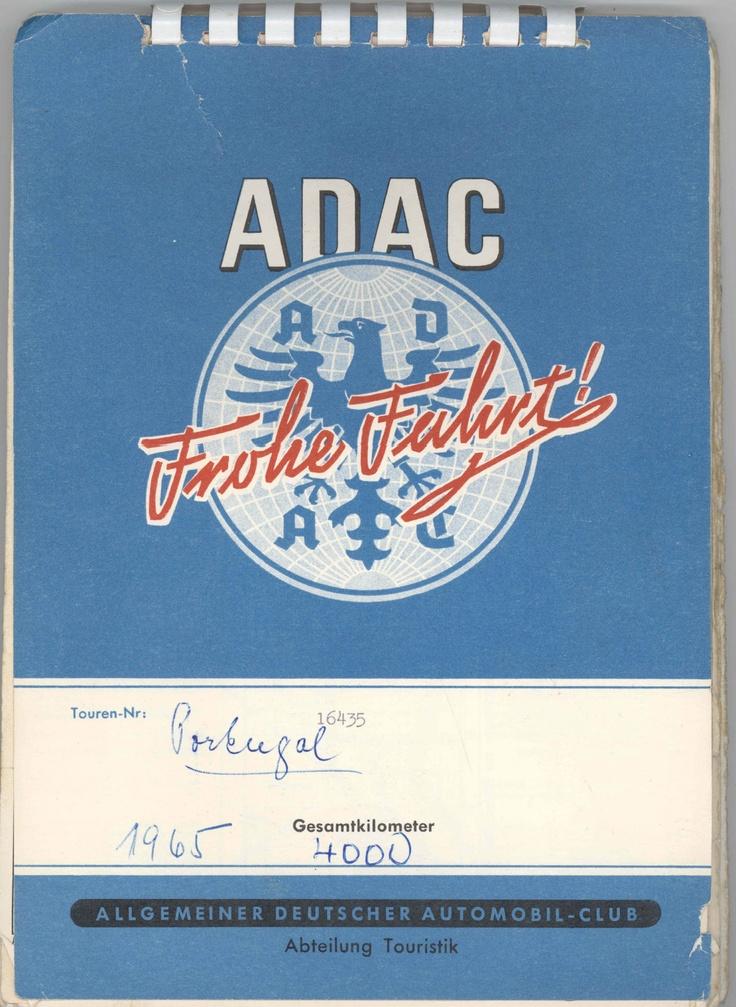 Eines der frühen ADAC TourSets. Bis heute sind sie für Mitglieder kostenlos.