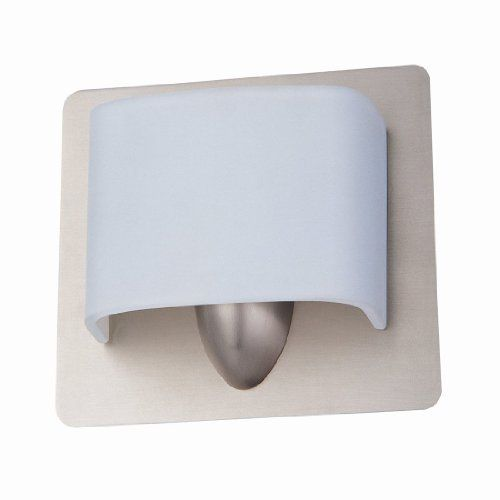 DVI DVP3501BN Long Beach Bathroom Light, Buffed Nickel by DVI. $96.99. From the Manufacturer                Finish: Buffed Nickel, Glass:Bent Opal Glass, Light Bulb:(1)75w T4 G9 120v Halogen One Light Vanity. No Junction Box Required Where Code Permits.                                    Product Description                DVP3501BN Features: -Wall sconce.-Bent opal glass shade.-Contemporary style.-No junction box required where code permits.-Specialty bulbs not included. Col...