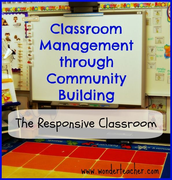 Classroom Management through Community Building - this really works!