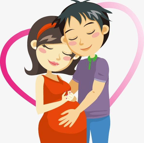 Hand Drawn Heart Shaped Pattern Pregnant Couple Hand Vector Pattern Vector Couple Vector Png Transparent Clipart Image And Psd File For Free Download Pregnant Couple Pregnant Expecting Mothers