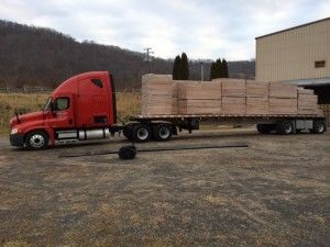 We are very proud of every step of our sauna process.  From the moment each truckload of Western Canadian Red Cedar is brought to our factory in Greenbriar, WV, to the moment a beautifully handcrafted sauna is delivered to your door.