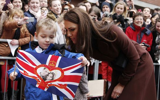 Duchess of Cambridge visits sick children and their families at Alder Hey's Childrens Hospital