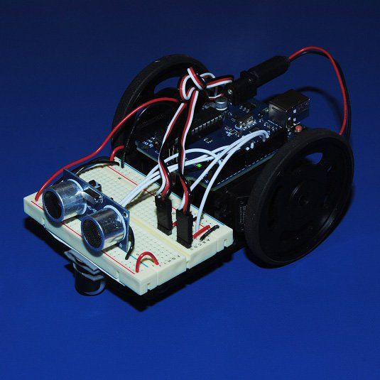 Learn how to quickly and easily build your first Arduino robot!