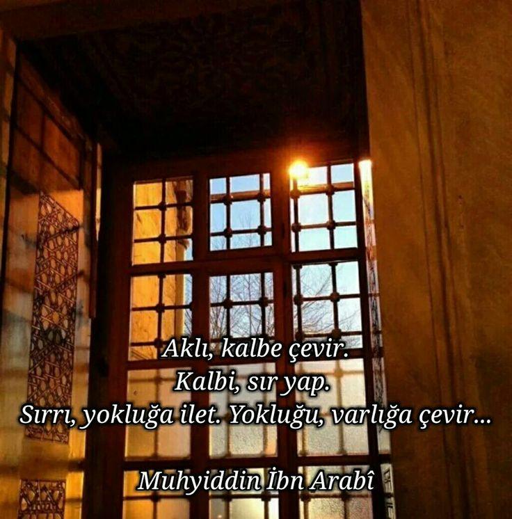 Muhyiddin -i Arabi Hz.