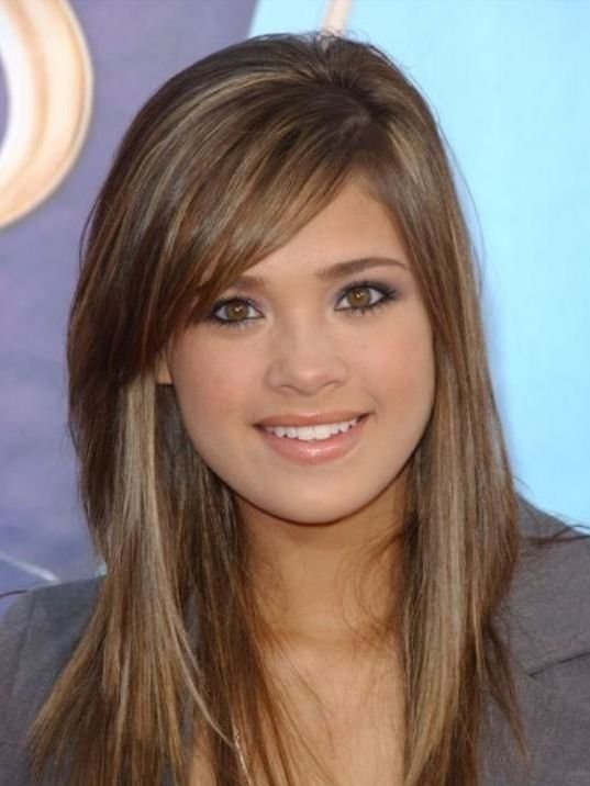 brunette pretty hair color
