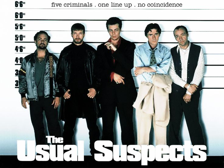 130 The Usual Suspects Ideas Usual Suspects Bryan Singer The Usual Suspects Movie