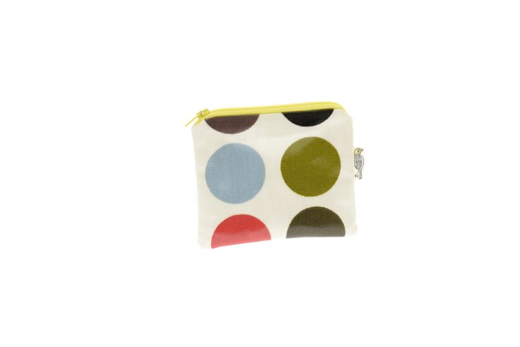 Spotty coin purse, £4.50