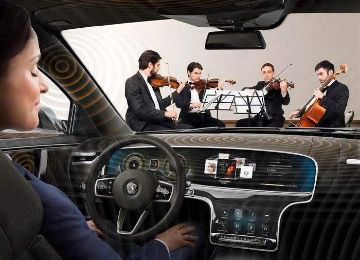 Your Car's Interior Will Become One Massive Speaker with New Sound System How would you hear anything in your car then? This automotive parts supplier might have assembled the future of car audio systems. German company Continental has developed a sound system that is independent of built-in speakers for cars. Called Ac2ated ...
