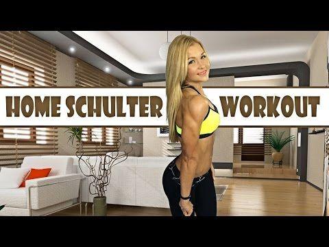 Sophias Homeworkout für schöne ♥ SCHULTERN ♥ - YouTube
