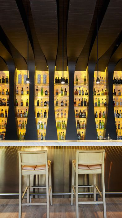 Nero Bar, Spain designed by IDEA