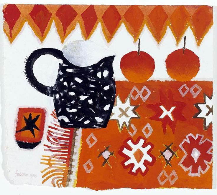 Mary Fedden | Red Rug
