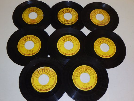 Original Sun Records Used Vinyl Record 7 45 Rpm By