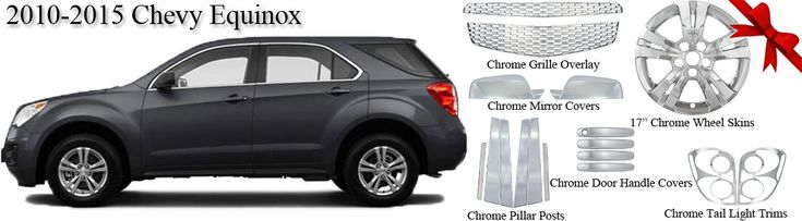 Hurry Up! Large variety of Chrome Accessories for 2010-2015 Chevy Equinox! #chevy Go to: http://www.deluxeautomall.com/catalogsearch/result/?q=2015+equinox