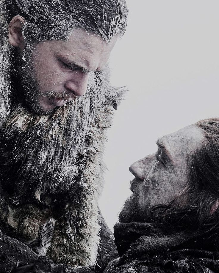 Jon Snow and Benjen Stark, Game of Thrones season 7, Kit Harington