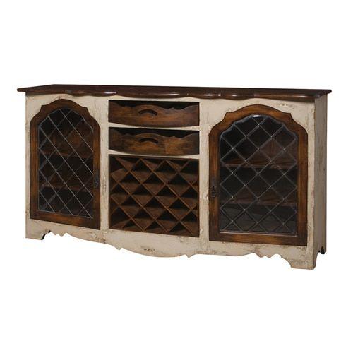 Credenza With Wine Storage - 600027