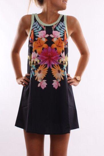 vestido floredo