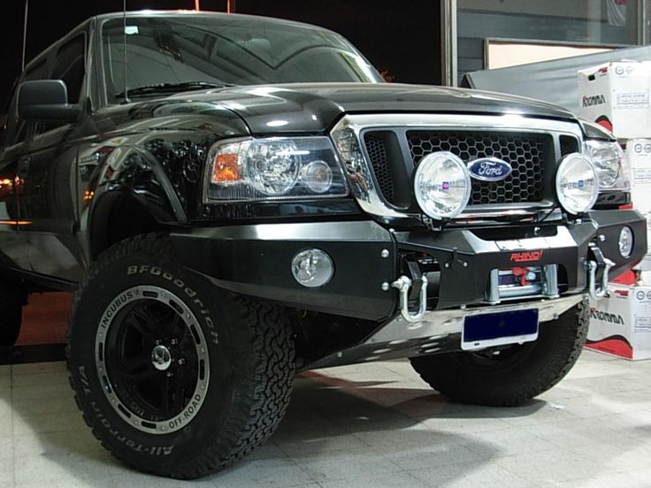 Ford Ranger Bumpers Off Road New South American Winch