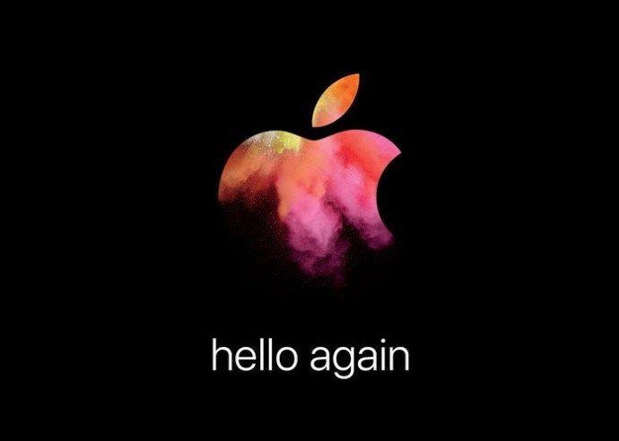 Apple's Teaser for October 27 Event: 'Hello again'