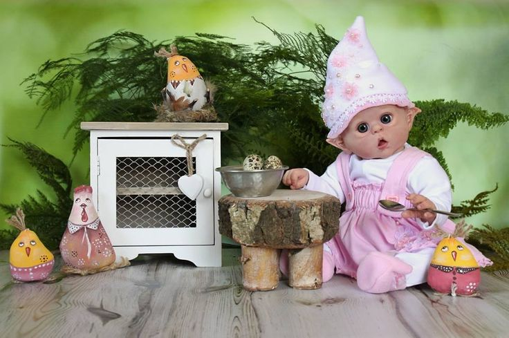 Reborn doll elf Ofelia- miny elf/pixie/fairy - Olga Auer by Dagmar Němcová On order www.facebook.com/...