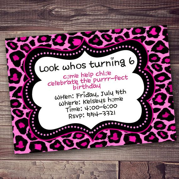 106 best lion king/animal print images on pinterest | animal, Birthday invitations