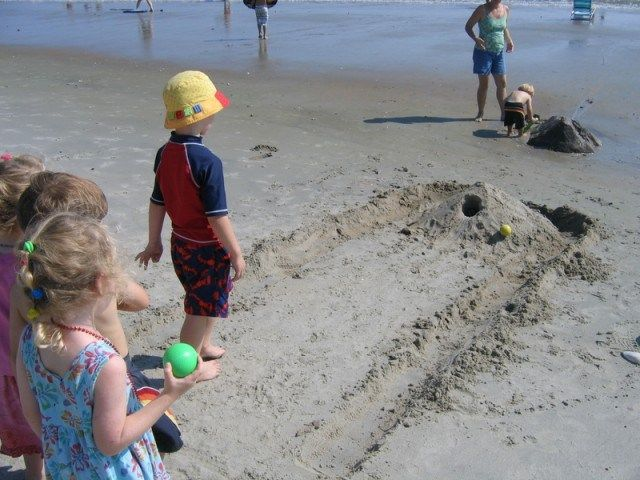 From musical towels to a mermaid relay race, here are the best beach games and activities for kids of all ages.