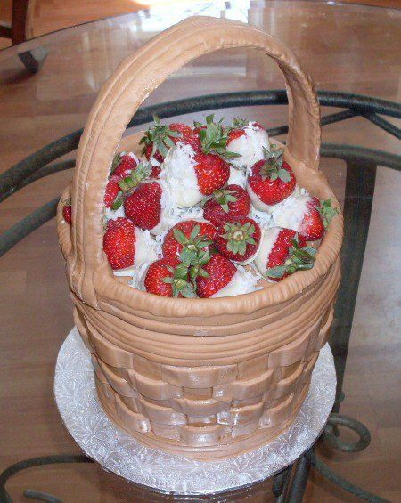 A FULL BASKET OF STRAWBERRIES! AMAZING CAKE! | YummY Foods ...