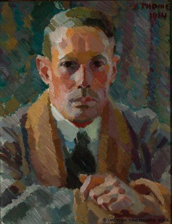 VERNOR THOME Self-Portrait (1914)