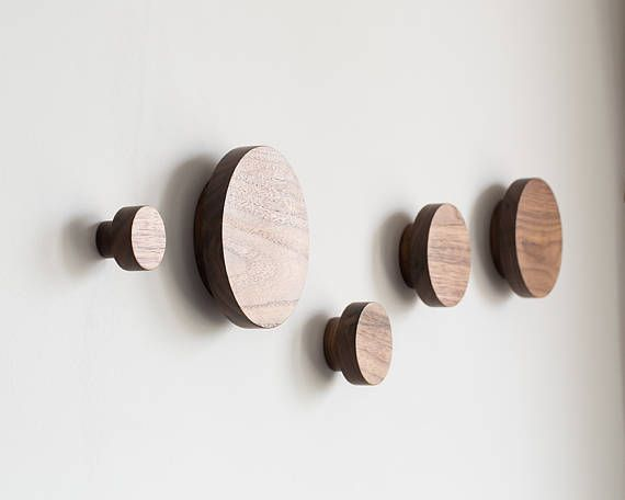 Wooden Wall Hooks Modern Coat Hooks Modern Coat Rack Wooden