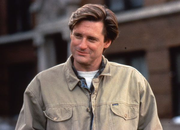 Bill Pullman. Not too sure what Meg Ryan was thinking, ditching him for Tom Hanks in Sleepless in Seattle...