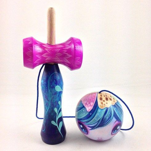 cute butterfly kendama