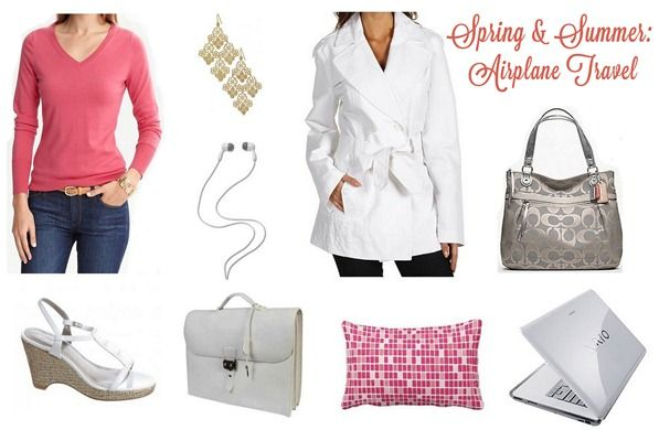 airplane travel outfit spring summer  Tips on how to pack and items to not forget