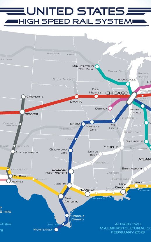 Best Maps Of Train Routes Images On Pinterest Train Route - Atlanta t montgomery rail on map of us