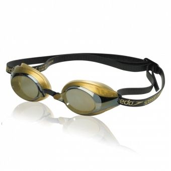 Speedo Speed Socket Polarized Swim Goggles - polarized lenses offer enhanced contrast, improved visual acuity and clearer depth perception. Perfect for open water competitions.