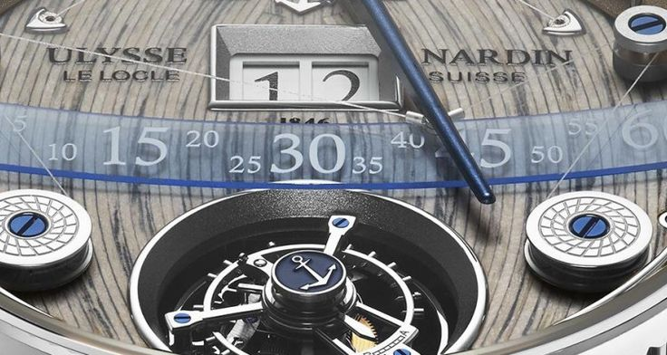 The UlysseNardin Grand Deck Marine #Tourbillon is a Racing Yacht for Your #Wrist
