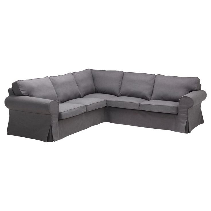 Ektorp Corner Sofa 2 2 Svanby Gray Ikea Family Room Pinterest Ikea Corner Sofa And
