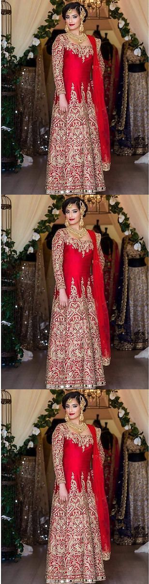 Other Ind-Pak Clothes and Accs 155251: Indian Pakistani Ethnic Bollywood Designer Anarkali Lehenga Suit P Ndl 02 -> BUY IT NOW ONLY: $84.49 on eBay!