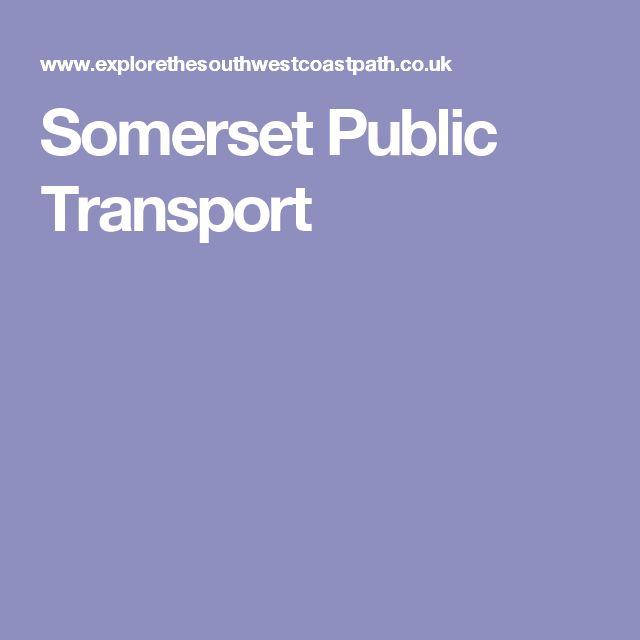 Somerset Public Transport