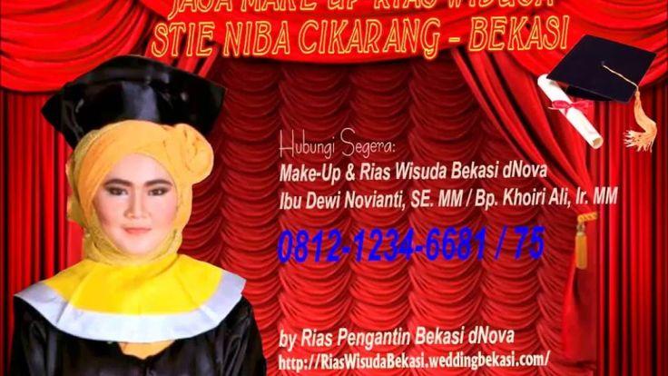 Make Up Wisuda STIE NIBA Cikarang Bekasi dNova 081212346681