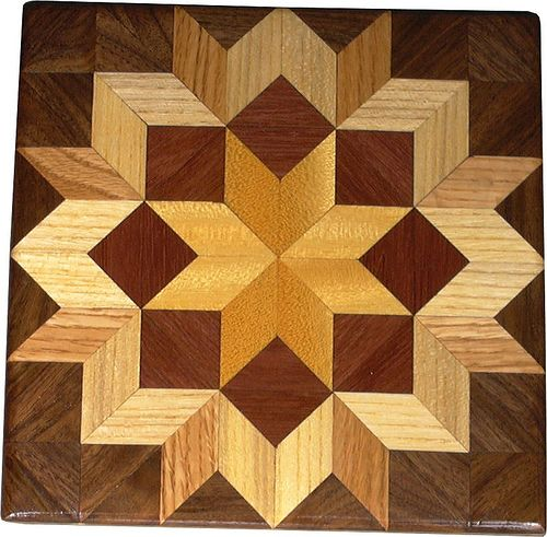 quilt patterns in woodworking | even extended the carpenters wheel on out to two sizes of lazy ...