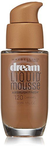 Maybelline Dream Liquid Mousse Airbrush Foundation Caramel Dark 2 1 oz Pack of 4 *** To view further for this item, visit the image link.