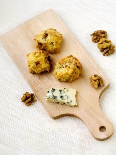 Cookies salés au roquefort - Recette de cuisine Marmiton : une recette
